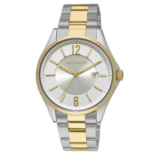 cb71635b834 Relógio Technos Steel Masculino Analógico - 2115GW 5K 2115GW 5K - Prata