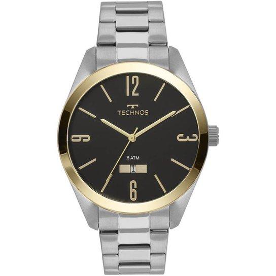 be743fd5d7617 Relógio Technos Steel Masculino - Prata - Compre Agora   Zattini