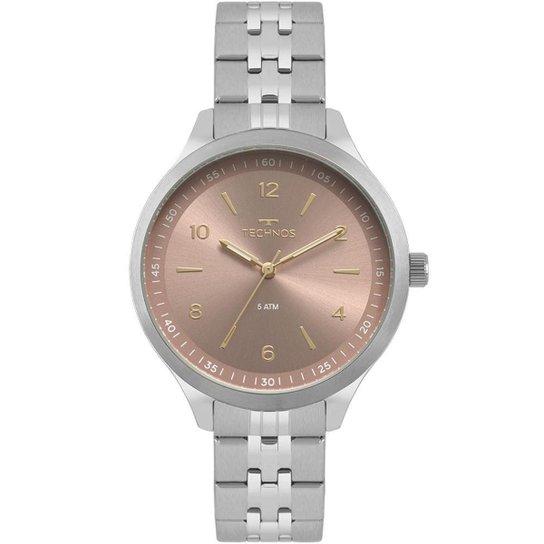 2f88b020cca Relógio Technos Dress Feminino - Prata - Compre Agora