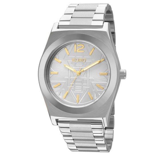 e3536f5b74f Relógio Euro Feminino EU2036JI - Prata - Compre Agora