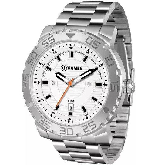 5ecc4eee54a Relógio Masculino X-Games Xmss1039 S2sx - Prata - Compre Agora