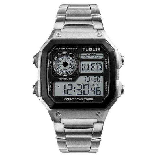 be77280726d Relógio Romaplac Tuguir Digital - Prata - Compre Agora