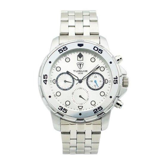 638579cb7d8 Relógio Skmei Tuguir Analógico - Prata - Compre Agora