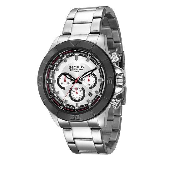 ce519b58d Relógio Seculus Analógico 28798GPSVCA1 Masculino - Compre Agora ...