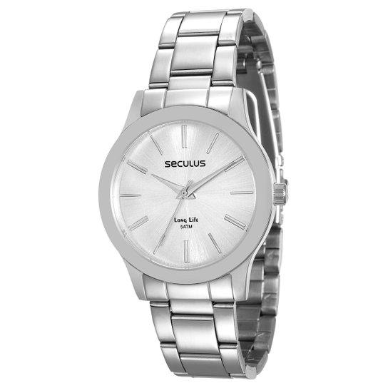 2498624a493 Relógio Seculus Analógico 77002L0SVNA2 Feminino - Compre Agora