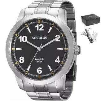 699d1909746 Relógio Seculus 28828g0svna1kz Masculino