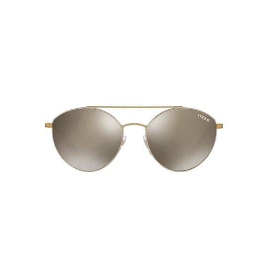 Óculos de Sol Vogue Irregular VO4023S Feminino - Prata - Compre ... 677334a4ac