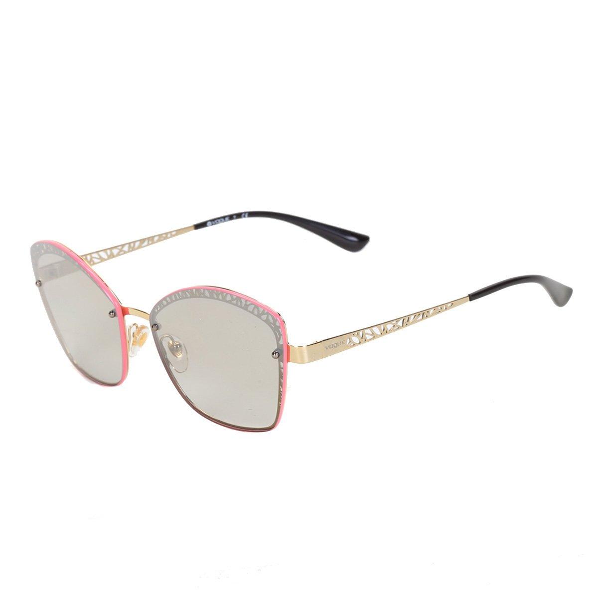Óculos Vogue Metal Lente Espelhada 0VO4141S848