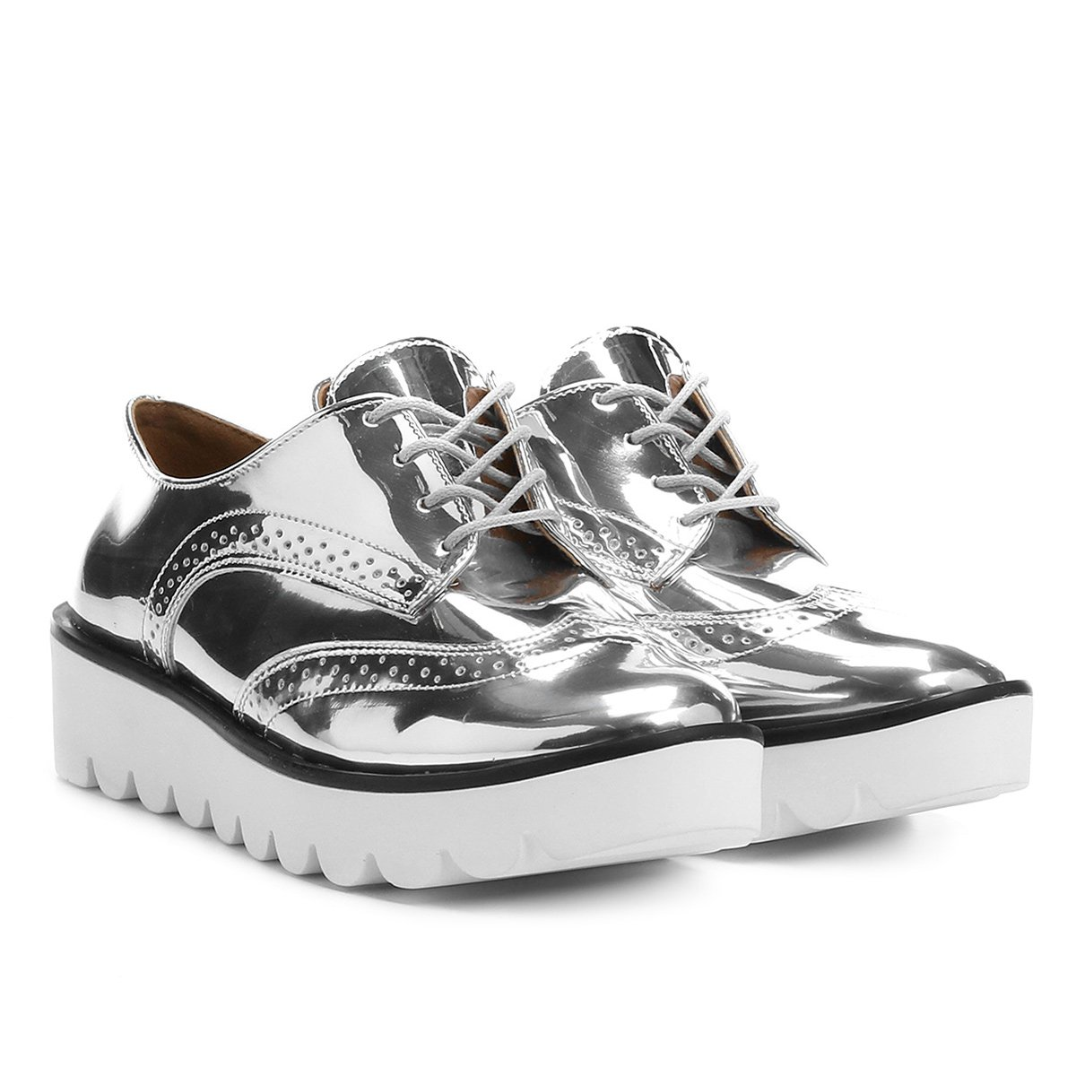 Oxford Zatz Flatform Brogues