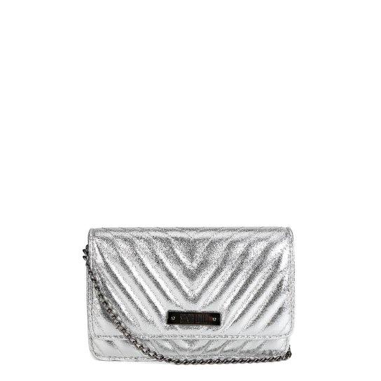 782c56045 Bolsa Santa Lolla Mini Bag Metalizado Feminina - Compre Agora | Zattini