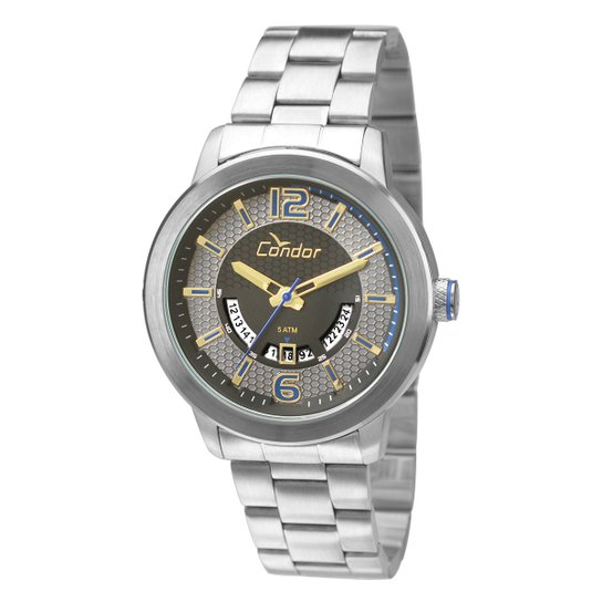 932a6e52c84e2 Relógio Condor Masculino CO2115UW K3P - Prata - Compre Agora   Zattini