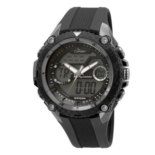 be6a48f54b660 Relógio Condor Masculino COAD1146AB 8P - Preto - Compre Agora   Zattini