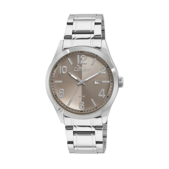 94b1038a67c Relógio Condor Masculino Metal CO2115XC 3M - 0 CO2115XC 3M - Prata ...