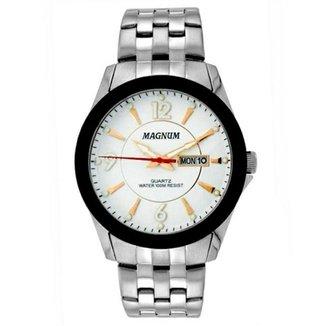 27ec32a032e Relógio Masculino Magnum Analogico