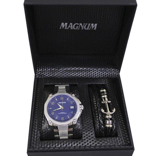 47e9a661891 Kit Relógio Masculino Magnum Ma336200 - Compre Agora