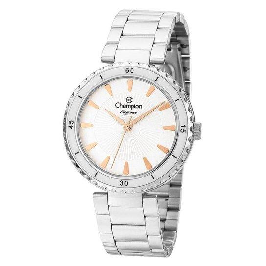 08ed042d4c3 Relógio Feminino Champion Cn27438q - Prata - Compre Agora