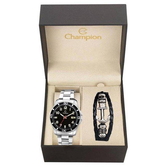 8a13740b90f Kit Relógio Masculino Champion Analógico Ca31524c - Compre Agora ...