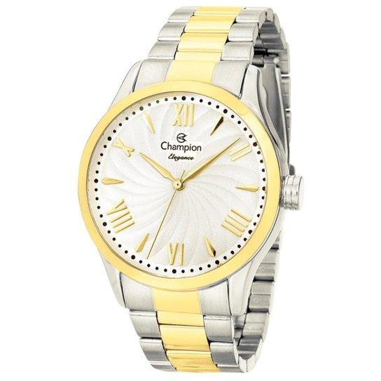 52d622e9206 Relógio Feminino Champion Cn27796d - Prata - Compre Agora
