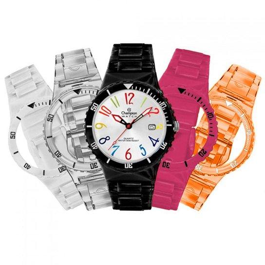 07c522bcf Relógio Feminino Champion Troca Pulseira Cp30119m - Compre Agora ...