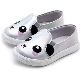6a6d27997d Slip On Bebê Pesh Panda Holográfico Feminino
