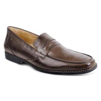 6c084890a0 Sapato Social Marrom Escuro - Calçados