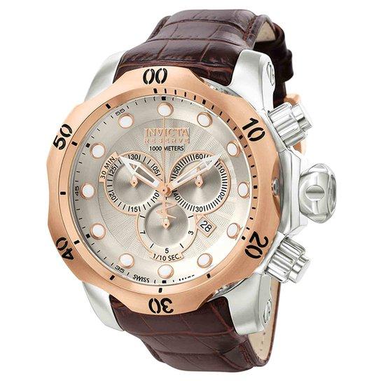 31187b96e44 Relógio Invicta Analógico 0359 Masculino - Prata - Compre Agora ...