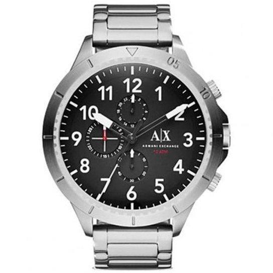 13ea5f7391e Relógio Armani Exchange AX1750 1PN 48mm - Prata - Compre Agora