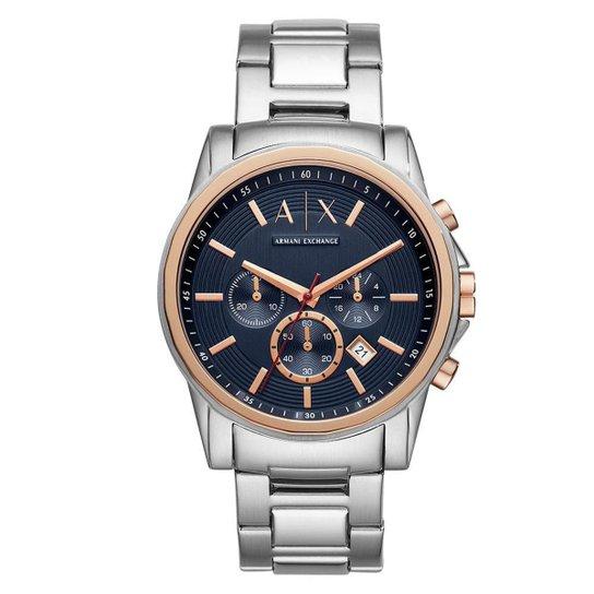 f4ef9c41bf3 Relógio Armani Exchange Masculino Outerbanks - AX2516 1KN AX2516 1KN - Prata