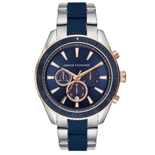 50ff19314c8 Relógio Armani Exchange Masculino Enzo AX1819 1KN AX1819 1KN - Prata ...