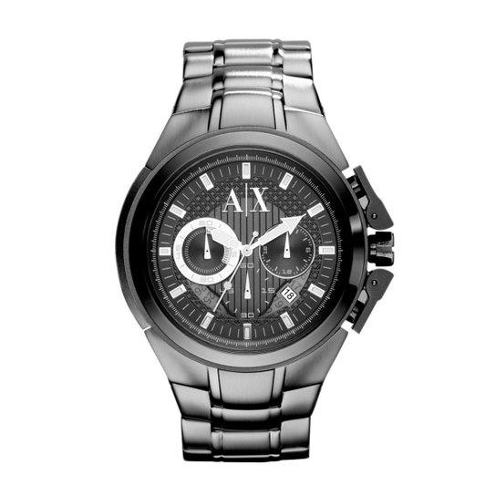 b398f16da96 Relógio Armani Exchange Masculino - UAX1181 Z UAX1181 Z - Prata ...