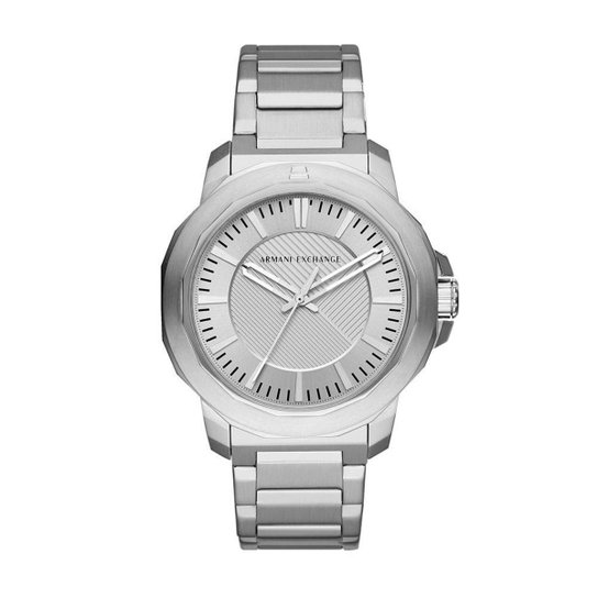 c5fe960c67a Relógio Armani Exchange Masculino Classic Ryder - AX1900 1KN AX1900 1KN -  Prata