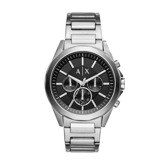 3261441881a97 Relógio Armani Exchange Drexler Masculino - Prata - Compre Agora ...