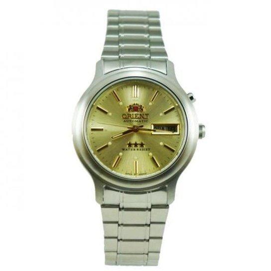b4bc501b5cd Relógio Orient Masculino Aco Inox Automatico Calendario - Compre ...