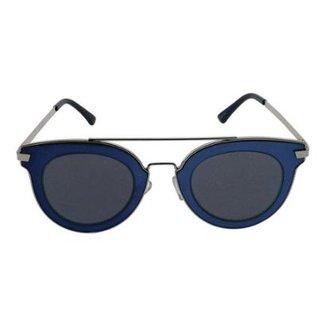 5be139dc0 Óculos de Sol Khatto Fashion Round Feminino