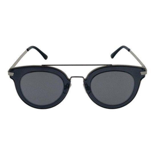 accbcf750 Óculos de Sol Khatto Fashion Round - Prata - Compre Agora | Zattini