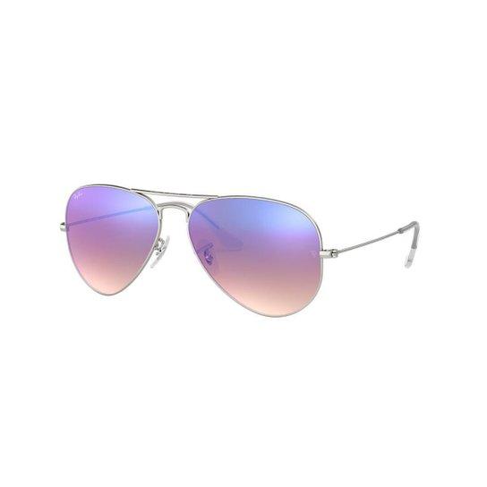 74baf27d0 Óculos de Sol Ray-Ban RB3025 Aviator Gradiente Espelhado | Zattini