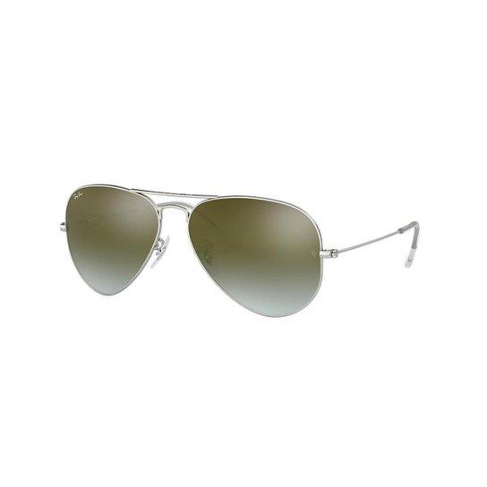 Óculos de Sol Ray-Ban RB3025 Aviator Lentes Espelhadas - Compre ... 19ee24d866