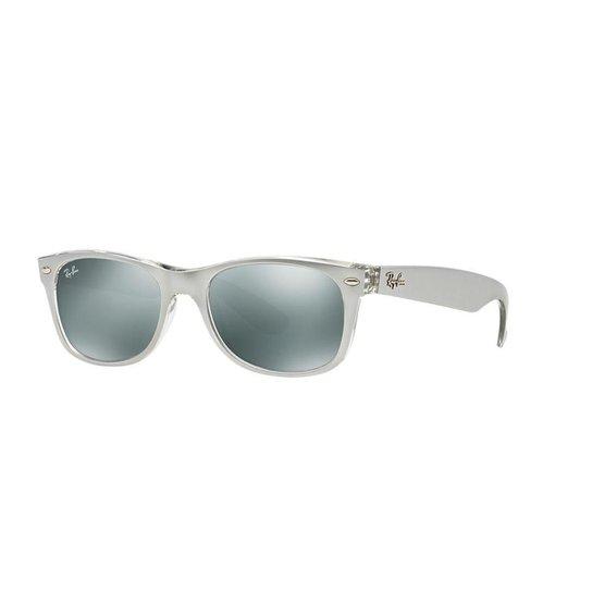 8c3004c88c541 Óculos de Sol Ray-Ban RB2132 New Wayfarer Metálico - Compre Agora ...