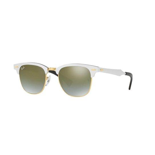 Óculos de Sol Ray-Ban RB3507 Clubmaster Alumínio - Compre Agora ... 8bb17b68f8
