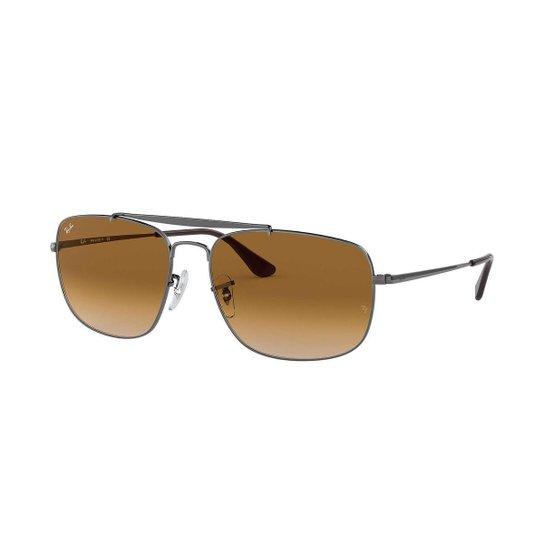 Óculos de Sol Ray-Ban Colonel Rb3560 - Prata - Compre Agora   Zattini 0388a6e715