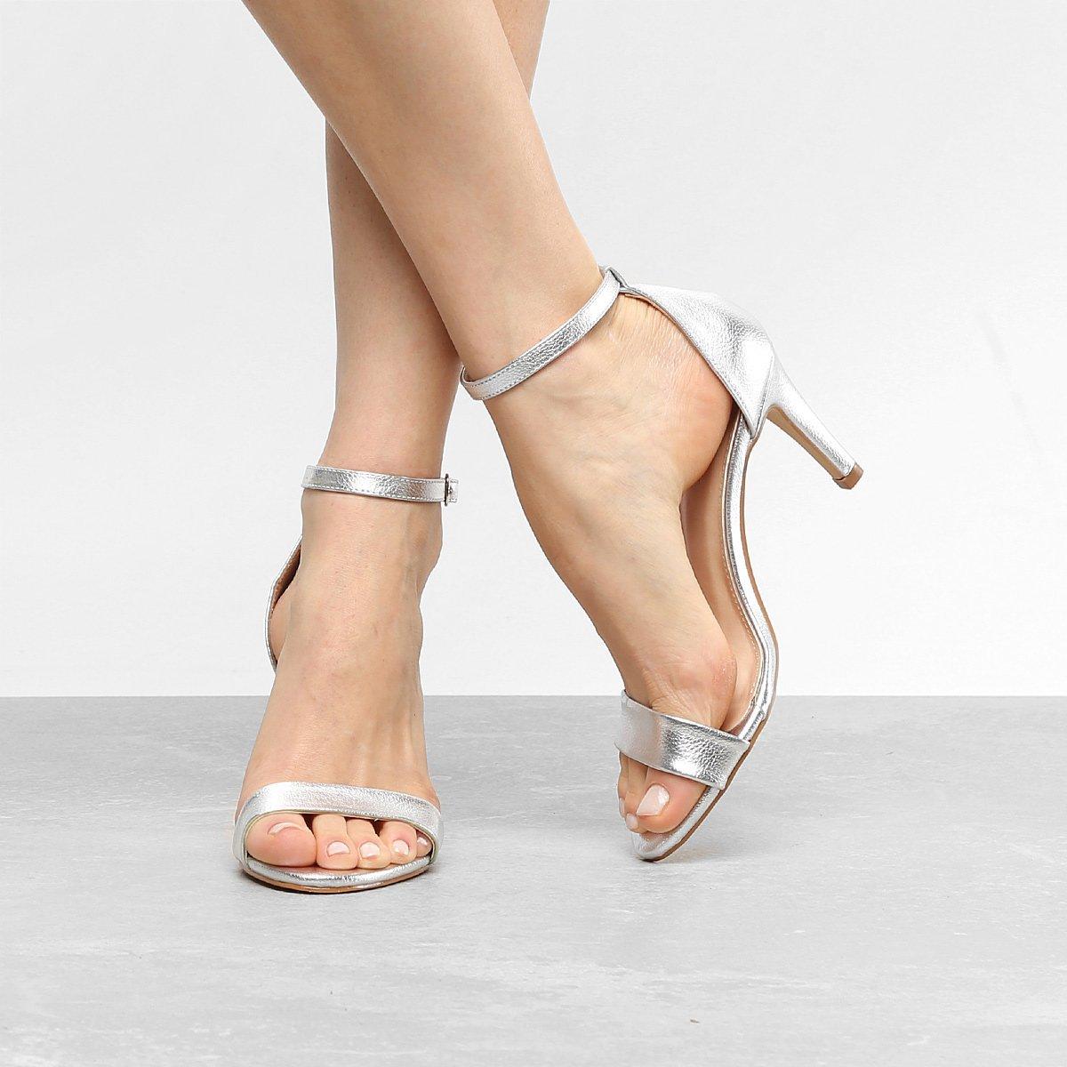 02df022aca Sandália Couro Shoestock Salto Médio Naked Feminina | Livelo -Sua Vida com  Mais Recompensas