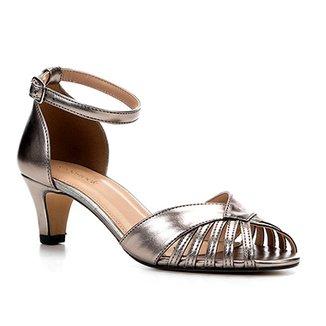 236726ce3 Sandálias Shoestock Prata Tamanho 34 - Calçados   Zattini