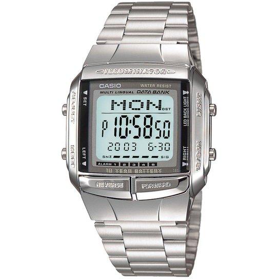 ce79a017a75 Relógio Casio Vintage DB-360-1ADF - Prata - Compre Agora