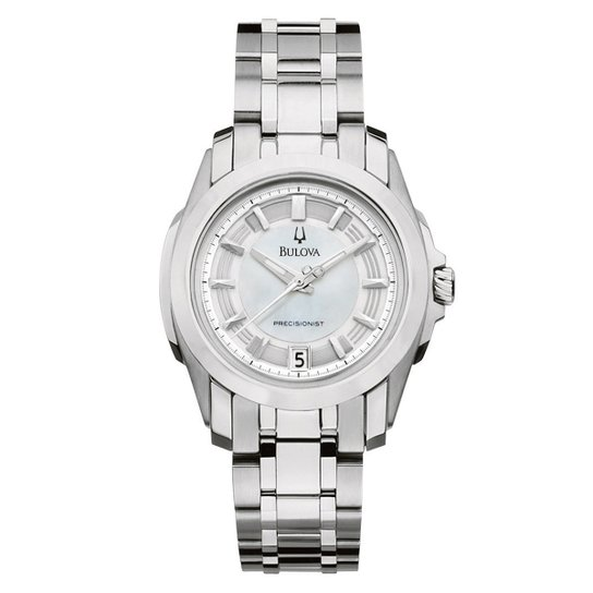 8d2dc1ab215 Relógio Bulova Analógico WB27565Q Feminino - Prata - Compre Agora ...