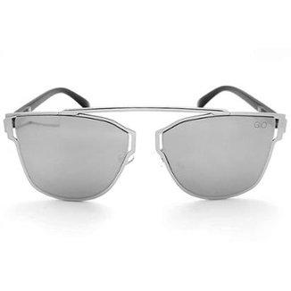 522eb9a13 Óculos de Sol Gio Antonelli Lente Prata Espelhada Feminino