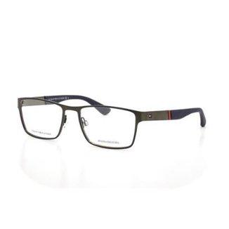 c190203833270 Armação De Óculos De Grau Tommy Hilfiger 1543 T 56 C R80