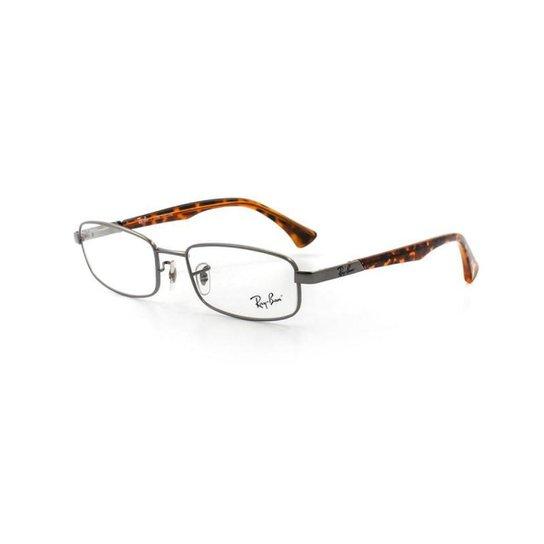 dfd7ccccb Armação De Óculos De Grau Ray Ban 6287L T 54 C 2772 Masculino - Grafite