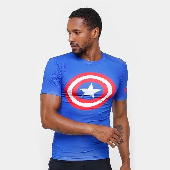 b75a91f743034 Camiseta de Compressão Under Armour Heroes Masculina - Compre Agora ...