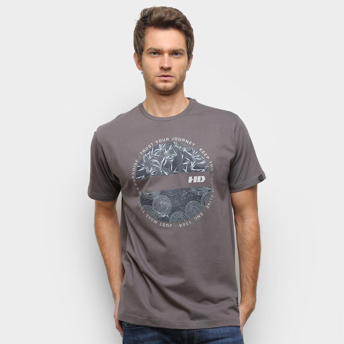 Camiseta HD Est New Satellite Masculina
