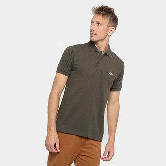 28c96ff9a02 Camisa Polo Lacoste Mescla Masculina